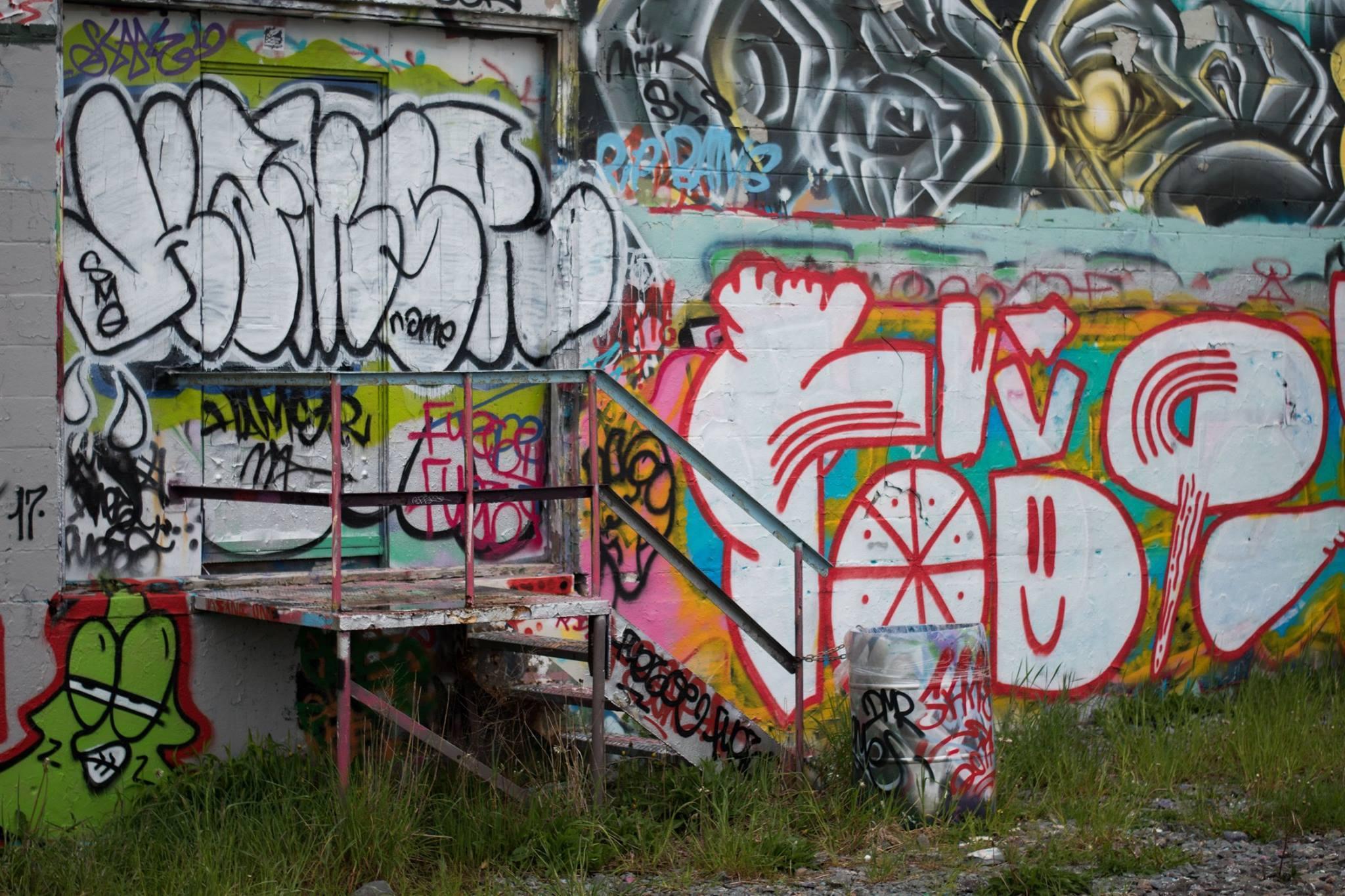 Dartmouth Graffiti - Copyright Cameron Edwards